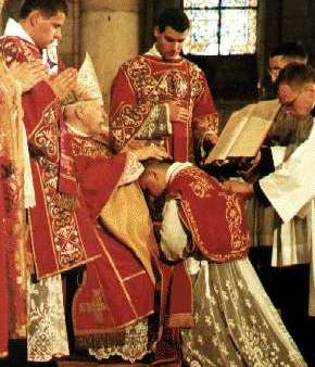 Mało znane pkty Kodeksu prawa kanonicznego. 10: Sakrament święceń. Komu wolno udzielać