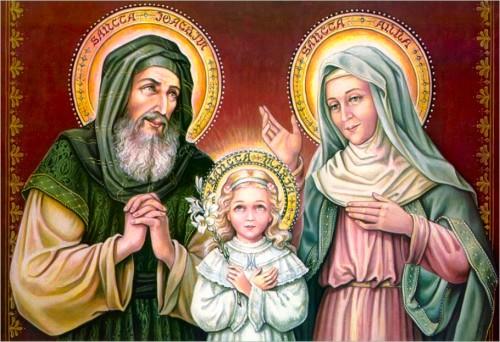 Wspomnienie Świętych Joachima i Anny