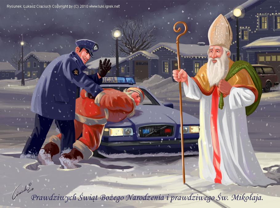 Z okazji Świętego Mikołaja