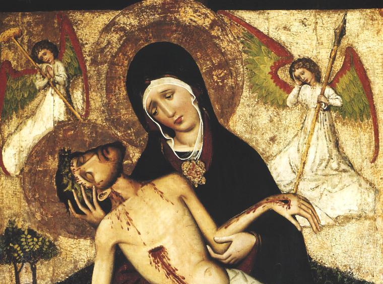 """Benedykt XVI: """"Z tą wiarą, która nawet w ciemności Wielkiej Soboty była pewnością nadziei, szłaś ku porankowi Wielkiej Nocy"""". Tak papież modlił się do Maryi stojącej pod krzyżem"""