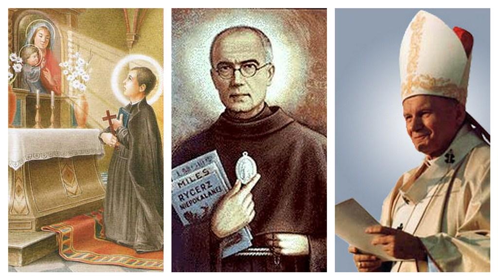 Polscy święci – czciciele Maryi