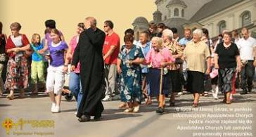 47. pielgrzymka chorych na Jasną Górę
