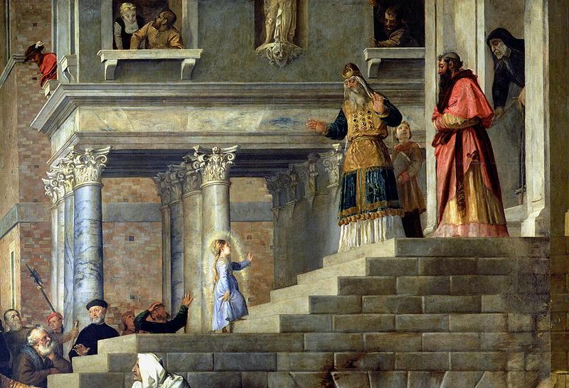 Wspomnienie ofiarowania Najświętszej Maryi Panny