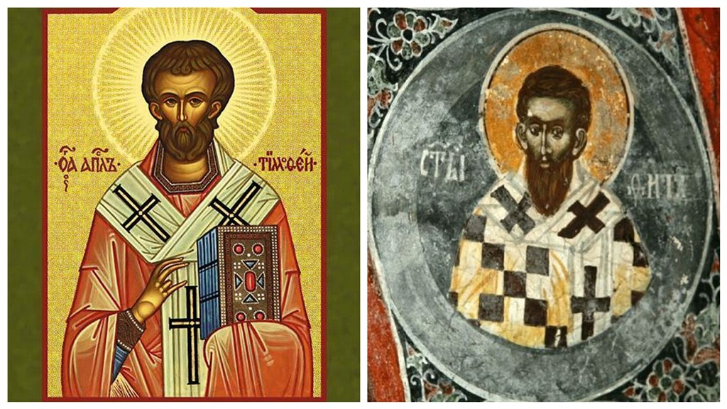 Wspomnienie Świętych Tymoteusza i Tytusa