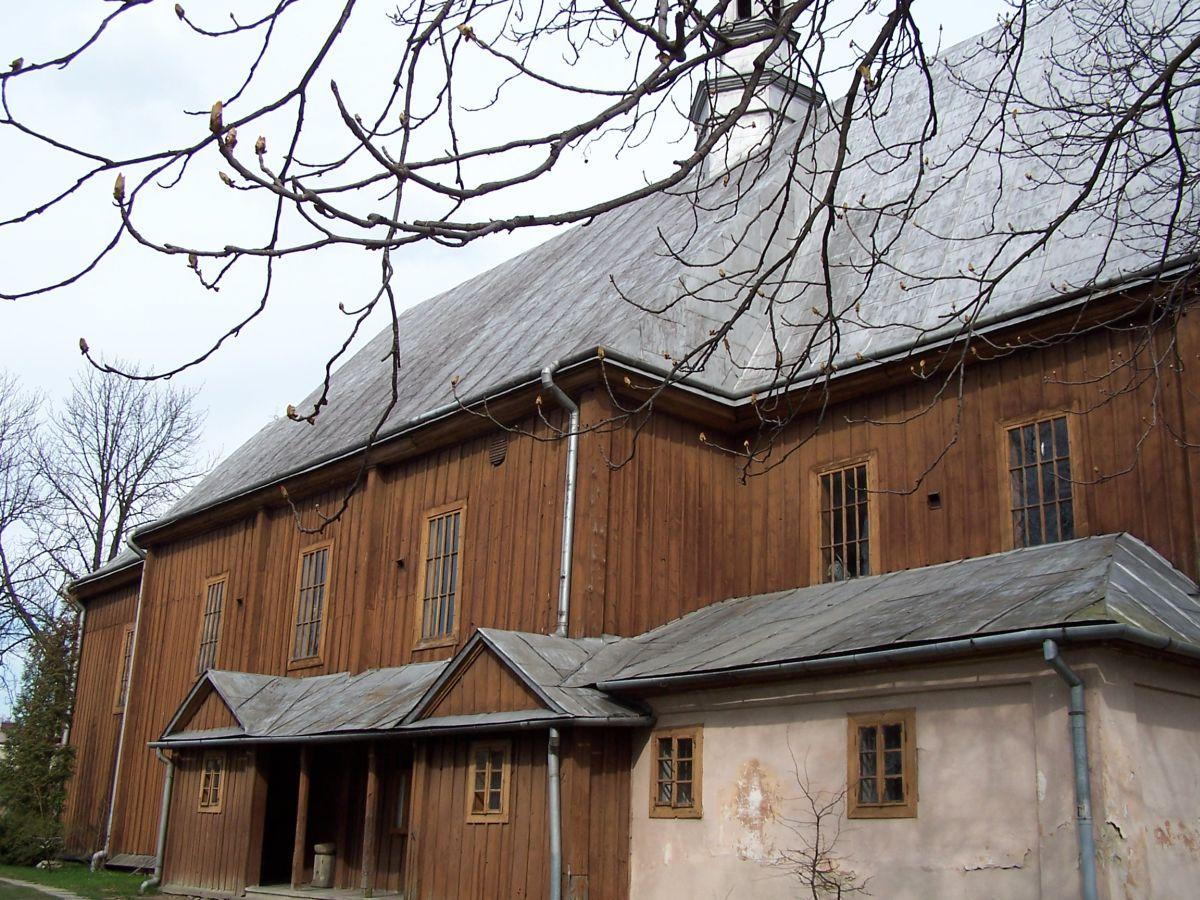 Szebnie. Krótka historia wioski i parafii