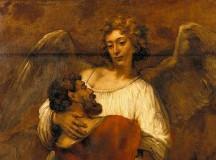 Św. Augustyn: Walczący z Bogiem Jakub obrazem Kościoła