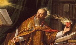 Philippe de Champaigne-XVII-w-Swiety-Augustyn-ikonka-1