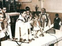 W Kopkach na Podkarpaciu ks. Jerzy Popiełuszko odprawił mszę prymicyjną w intencji kolegi, który utonął w Sanie