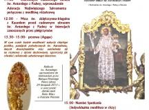 III Antoniański Dzień Skupienia w  Sanktuarium Św. Antoniego z Padwy w Ratowie