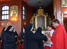 Siostry Franciszkanki Rodziny Maryi w  Sanktuarium w Mikstacie