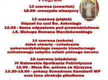 Sanktuarium w Ratowie zaprasza na Dni Świętego Antoniego