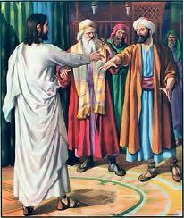 jezus faryzeusze
