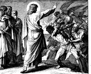 jezus i złe duchy