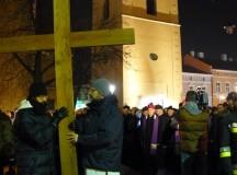Droga krzyżowa ulicami Rzeszowa (fotogaleria)