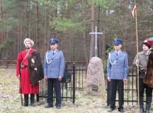 Zaproszenie na uroczystości ku czci Powstańców Styczniowych pod krzyżem we Wróblewie
