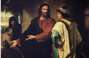 jezus i młodzieniec