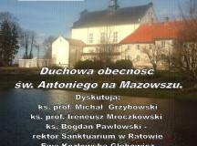 """""""Między Padwą a Ratowem….Duchowa obecność św. Antoniego na Mazowszu"""". Zaproszenie na spotkanie do Muzeum Diecezjalnego w Płocku"""