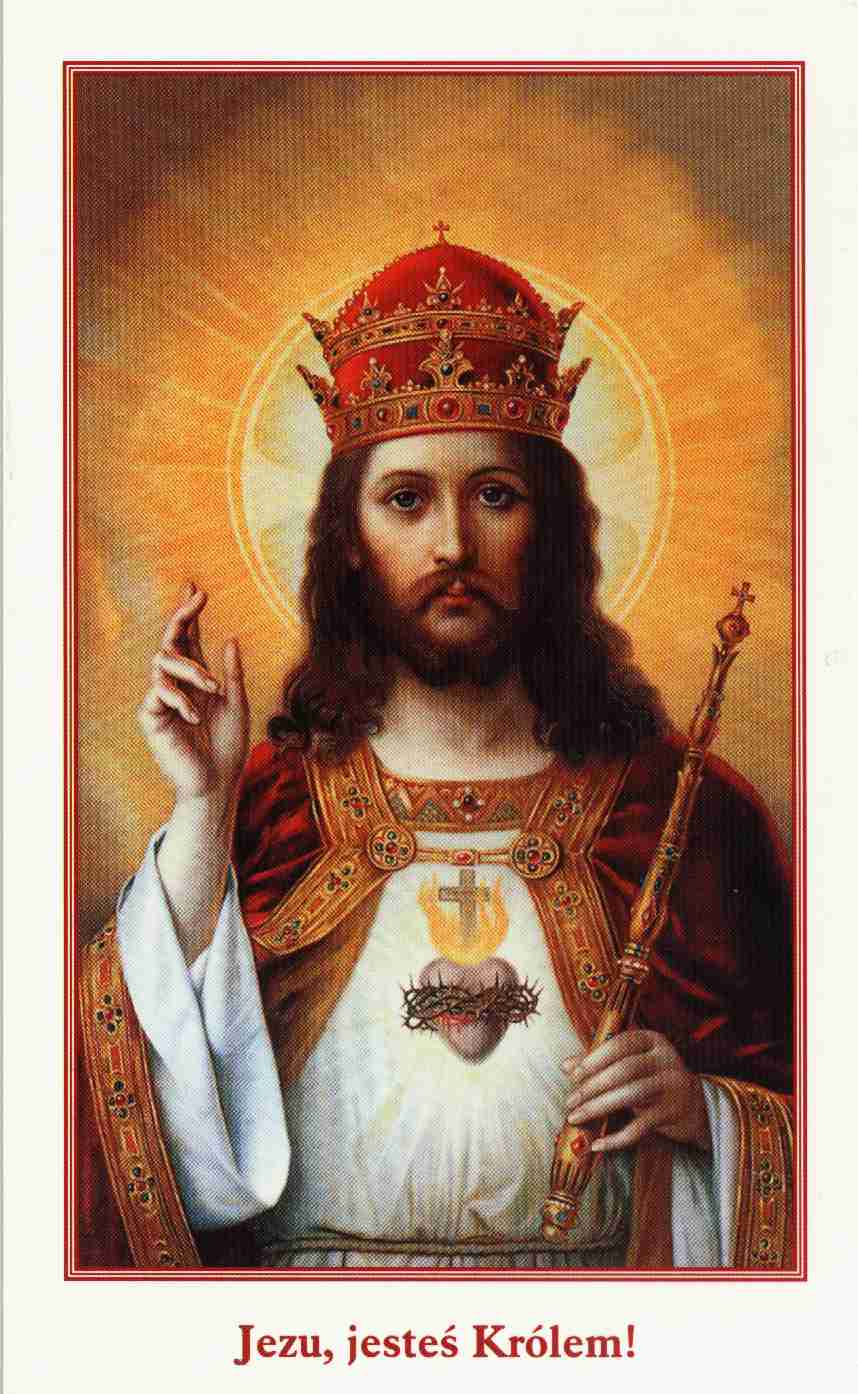 Znalezione obrazy dla zapytania modlitwa do jezusa króla