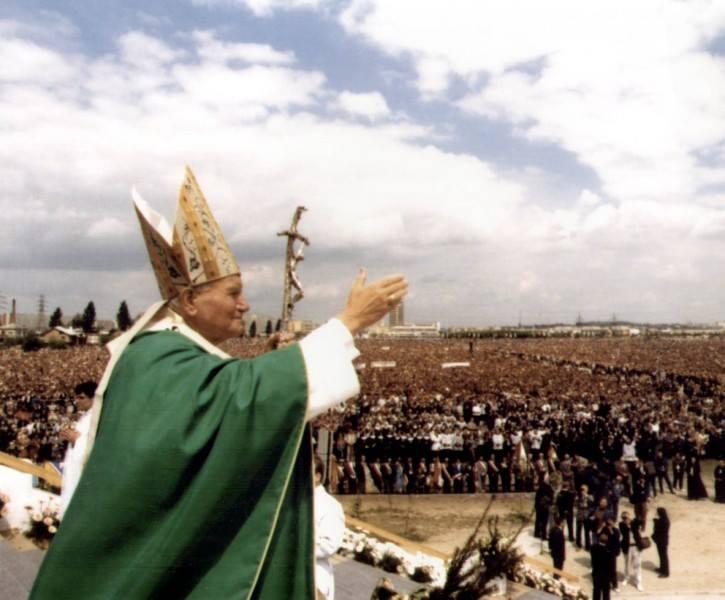 """26 lat temu. Jan Paweł II w Rzeszowie: """"Nie bądź chrześcijaninem byle jakim"""""""
