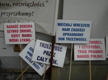 Marsz na rzecz trzeźwości w Rzeszowie