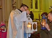 Betlejemskie Światło pokoju w mikstackiej wspólnocie
