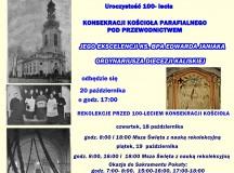 Pod patronatem Dziennika Parafialnego: 100- lecie konsekracji kościoła farnego w Mikstacie. Zapowiedź