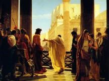 Jezusa Chrystusa Króla Wszechświata, 25 XI 2018 – komentarz do Ewangelii