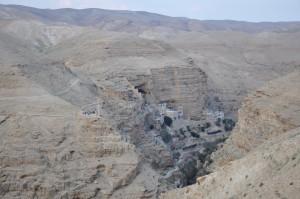 Pustynia Judzka, klasztor św. Jerzego