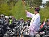 Rozpoczęcie sezonu motocyklowego u Świętego Rocha w Mikstacie