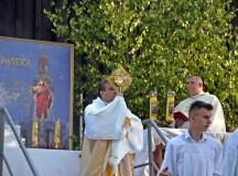 Zakończenie oktawy Bożego Ciała w sanktuarium św. Rocha w Mikstacie
