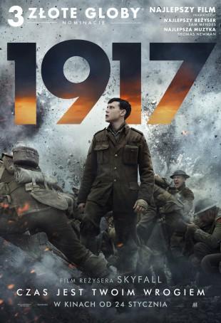 1917 – najnowszy film Sama Mendesa. 3 nominacje i 2 Złote Globy!