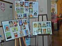 Kapliczki maryjne dzieci z mikstackiej parafii