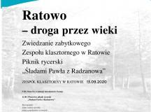 X Europejskie Dni Dziedzictwa w Zespole klasztornym w Ratowie – zaproszenie
