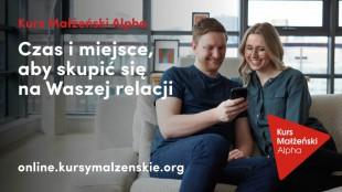 Kurs Małżeński Alpha online na ŚWIATOWY DZIEŃ MAŁŻEŃSTWA i nie tylko